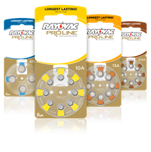 Rayovac Proline Batteries Lineup
